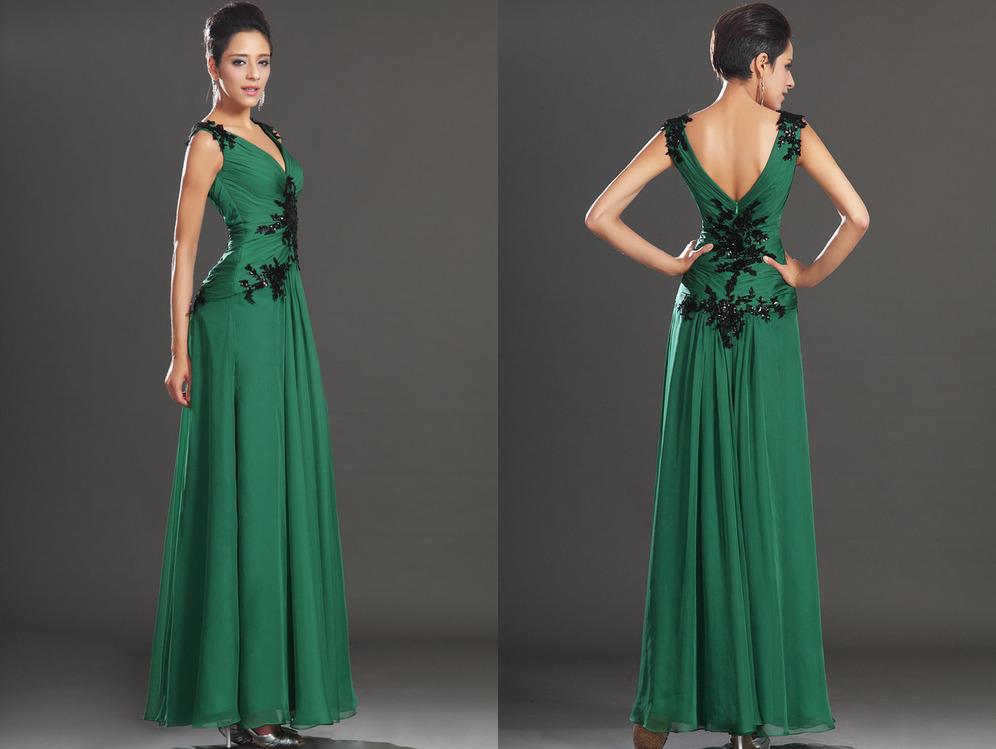7303a59ba9b ... φόρεμα βραδινά Καλοκαίρι Μικροκαμωμένη Χάντρες Τούλι επικάλυψης Κομψό  Βαθιά v-λαιμός