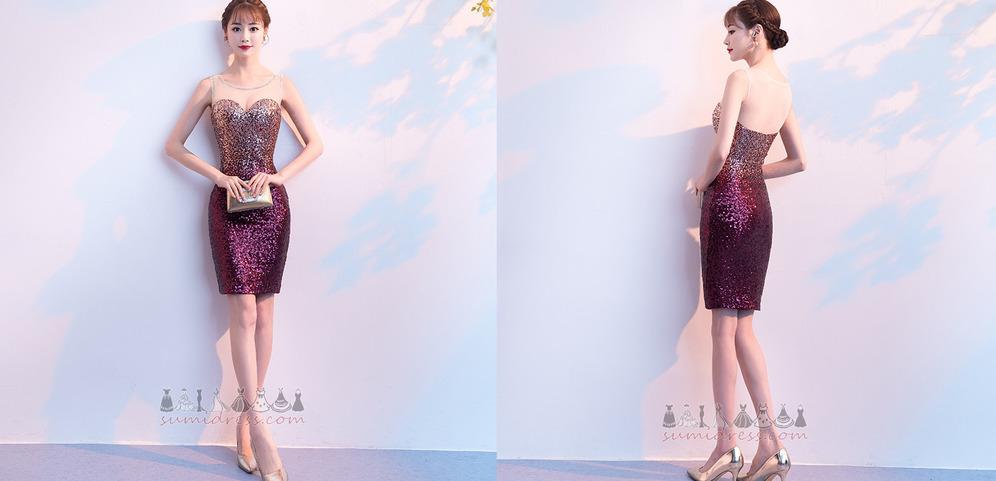 schede Boothals Petite Natuurlijk Feest Fonkeling cocktail jurk
