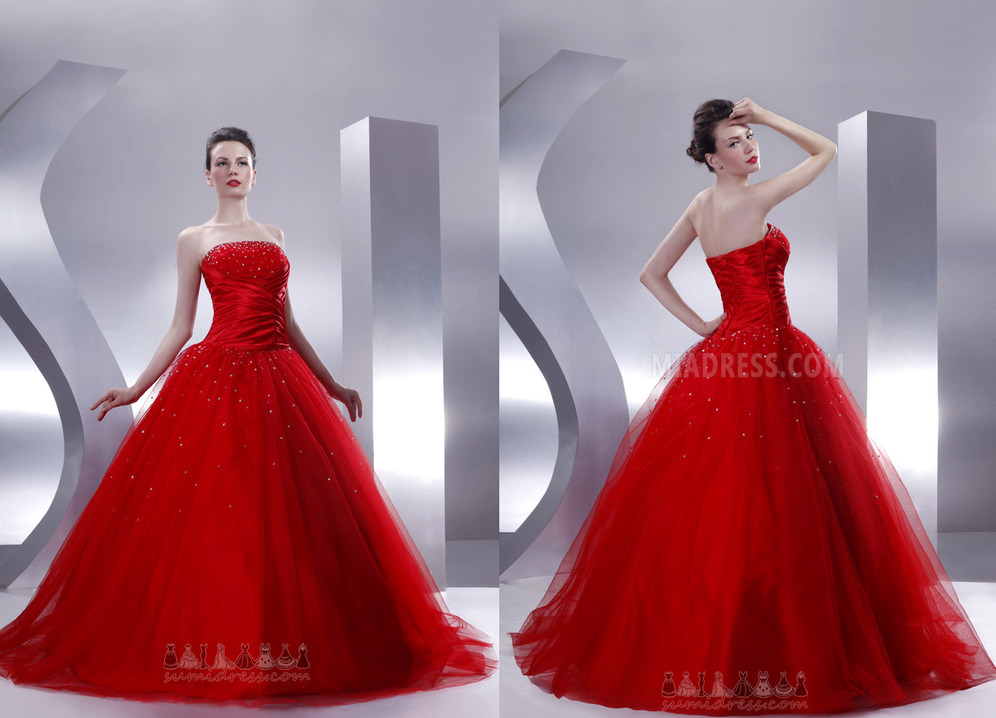 Floor Length Sleeveless Church Sequined Thin Dropped Waist Quinceanera Dress