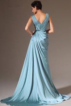 b52aca90361b διαφορετικά είδη φορέματα βραδινά Μπλε που προσφέρονται από robemme. fr