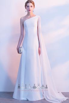 17f94fb6bdff Zamiesť vlak Bez rukávov Stredná Dĺžka podlahy Elegantné Jedno rameno  Večerné šaty ·   110.11 USD