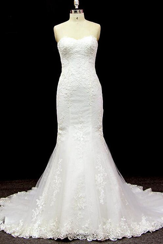 085957410db Pruut kleit Varrukateta Merineitsi Kabel rongi Tüll Pikk Pits -  Sumidress.com