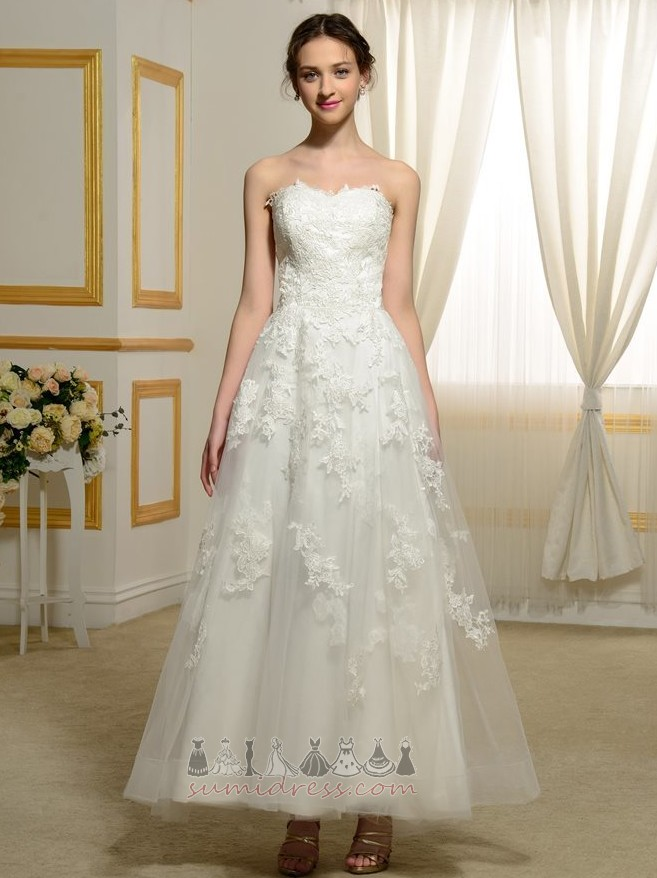 Outdoor Natural Waist Satin Draped Fall A-Line Wedding gown